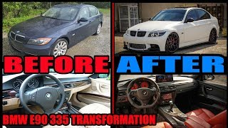 BUILDING AN E90 BMW 335 IN 20 MINUTES !!!