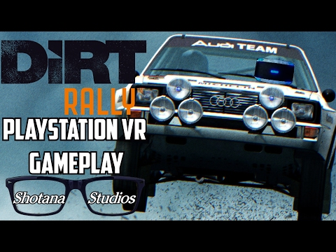 Dirt Rally VR   PSVR Gameplay + Honest Thoughts Review (PS4)