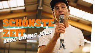 SCHÖNSTE ZEIT - Bosse live mit Cello auf dem Tennisplatz