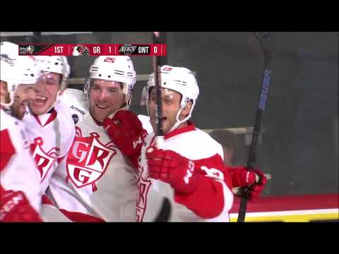 Chris Terry scores fastest goal ever for Grand Rapids Griffins