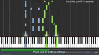Jessie J - Domino (Piano Cover) by LittleTranscriber