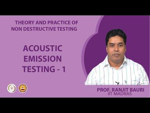 Acoustic Emission Testing - 1