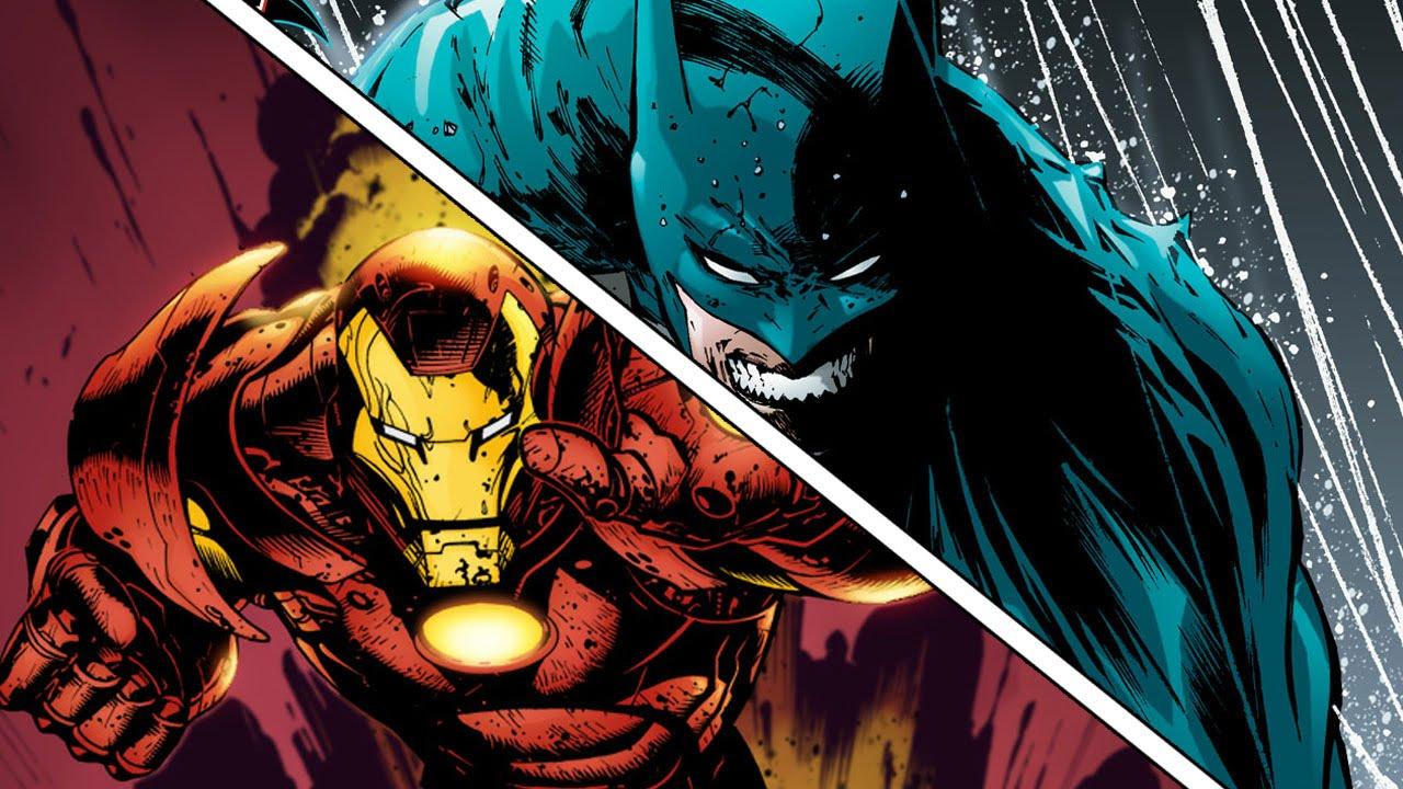 Resultado de imagen para iron man vs batman