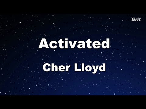 Cher Lloyd - Activated Karaoke 【No Guide Melody】 Instrumental