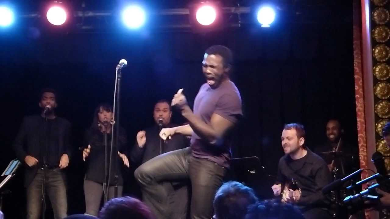 Download Joshua Henry demonstrates how to fake performing soul music