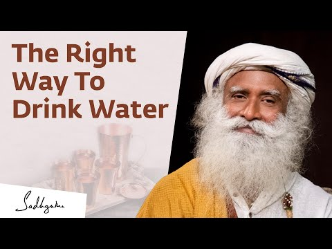 The Key To Health: Treating Water With Reverence | Sadhguru