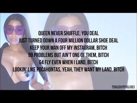 Nicki Minaj - I Can't Even Lie (Verse - Lyrics)