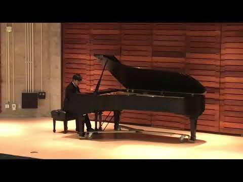 Dyllan at the California Association of Professional Music Teachers Honors Competition 2019