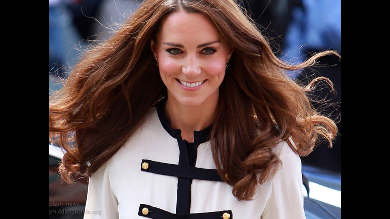 Kate Middleton Hair Tutorial Loose Curls YouTube