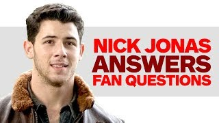Jumanji's Nick Jonas Answers Fan Questions