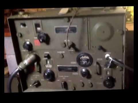 BC 654 WWII radio back on line at K2ZRU (Ser No 13846)