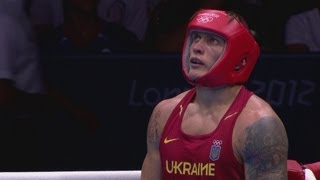 Usyk (UKR) v Pulev (BUL) - Boxing Men's Heavy 91kg Semi-Final - London 2012 Olympics