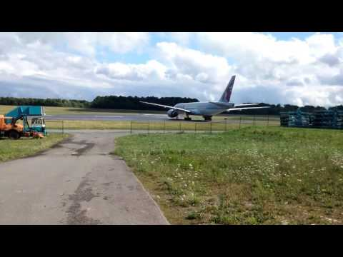 Spotting Luxembourg Findel Airport(17)