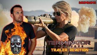 Drumdums TERMINATOR DARK FATE Trailer Reaction!