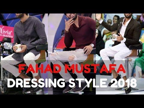 Fahad Mustafa Latest Dressing Style Winter 2018 | Celebrity Lookbook