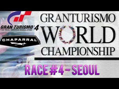 Gran Turismo 4 World Championship | Race 4 - Seoul (w/ Logitech G27)
