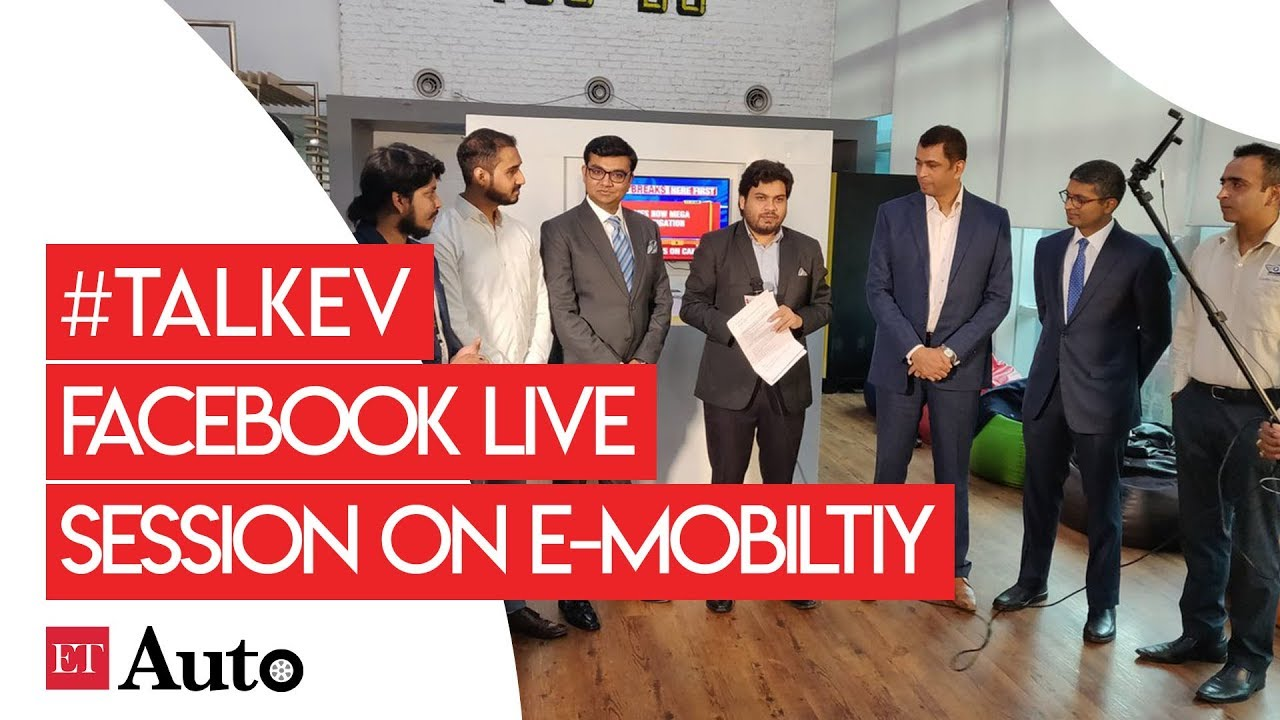 TalkEV - ETAuto FBLive on How to form EV startups in India   ET Auto