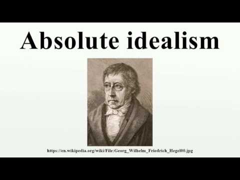Absolute idealism