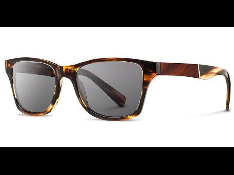acd45da2d4c9 Shwood Canby 50 50 Sunglasses - Acetate With Wood Inlays - YouTube