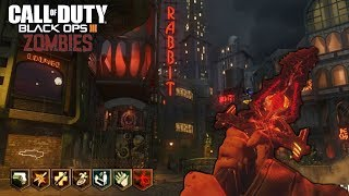 SHADOWS OF EVIL Y ASCENSION EASTER EGGS  | CALL OF DUTY: BLACK OPS 3 ZOMBIES GAMEPLAY