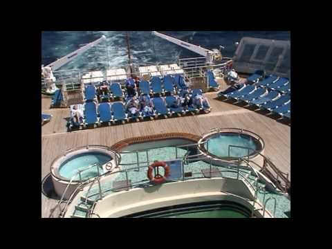 Onboard and inside the QE2 including inside a cabin.  GREAT MEMORIES