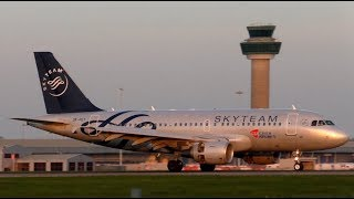 SKYTEAM Czech Airlines Airbus A319 OK-PET at Stansted Airport