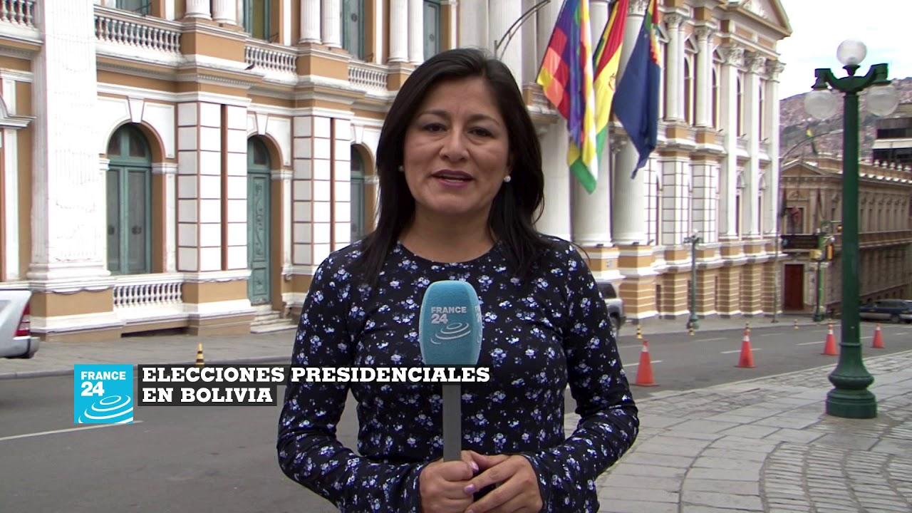 Elecciones presidenciales de Bolivia,  un cubrimiento especial de France 24 en español