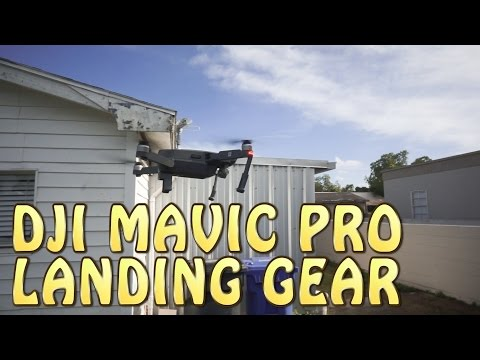 $10 DJI MAVIC PRO LANDING GEAR REVIEW.