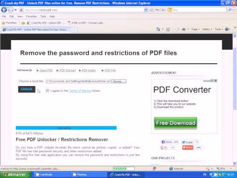 How to crack PDF | Doovi