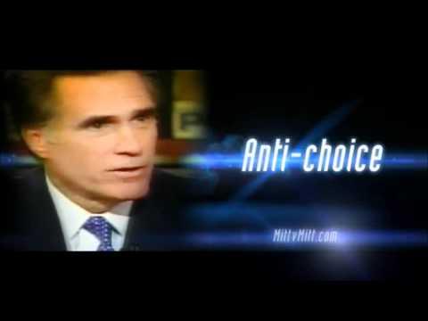 Mitt V. Mitt -- Trapped -- DNC Political Ad.