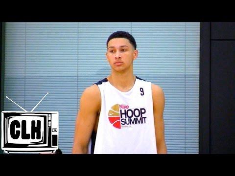 Ben Simmons #1 Pick in 2016 NBA Draft? - Nike Hoop Summit -