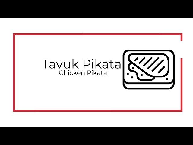 Tavuk pikata / Chicken picata