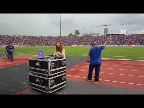 DJ ahead the match Cambodia vs Chinese Taipei 7/6/16