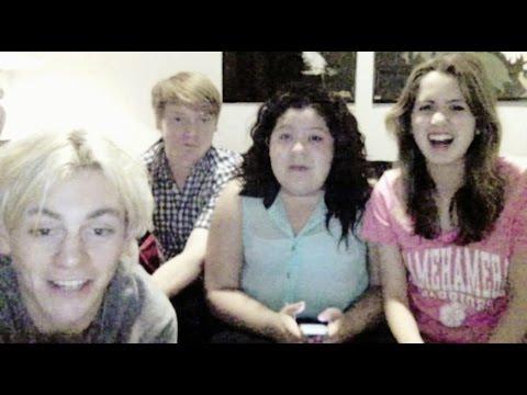 Austin & Ally Cast Live Chat FULL 12/02/2014