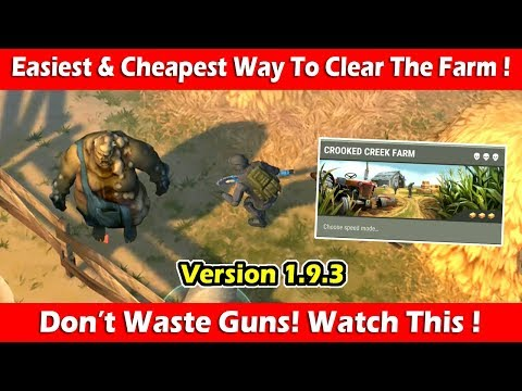 "Easiest & Cheapest Way To Clear ""Crooked Creek Farm"" (1.9.3)! Last Day On Earth Survival"