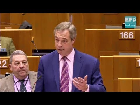 Christmas has come early for the EU with May's 50 billion Brexit payment - Nigel Farage MEP