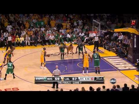 2010 NBA Finals - Boston vs Los Angeles - Game 7 Best Plays