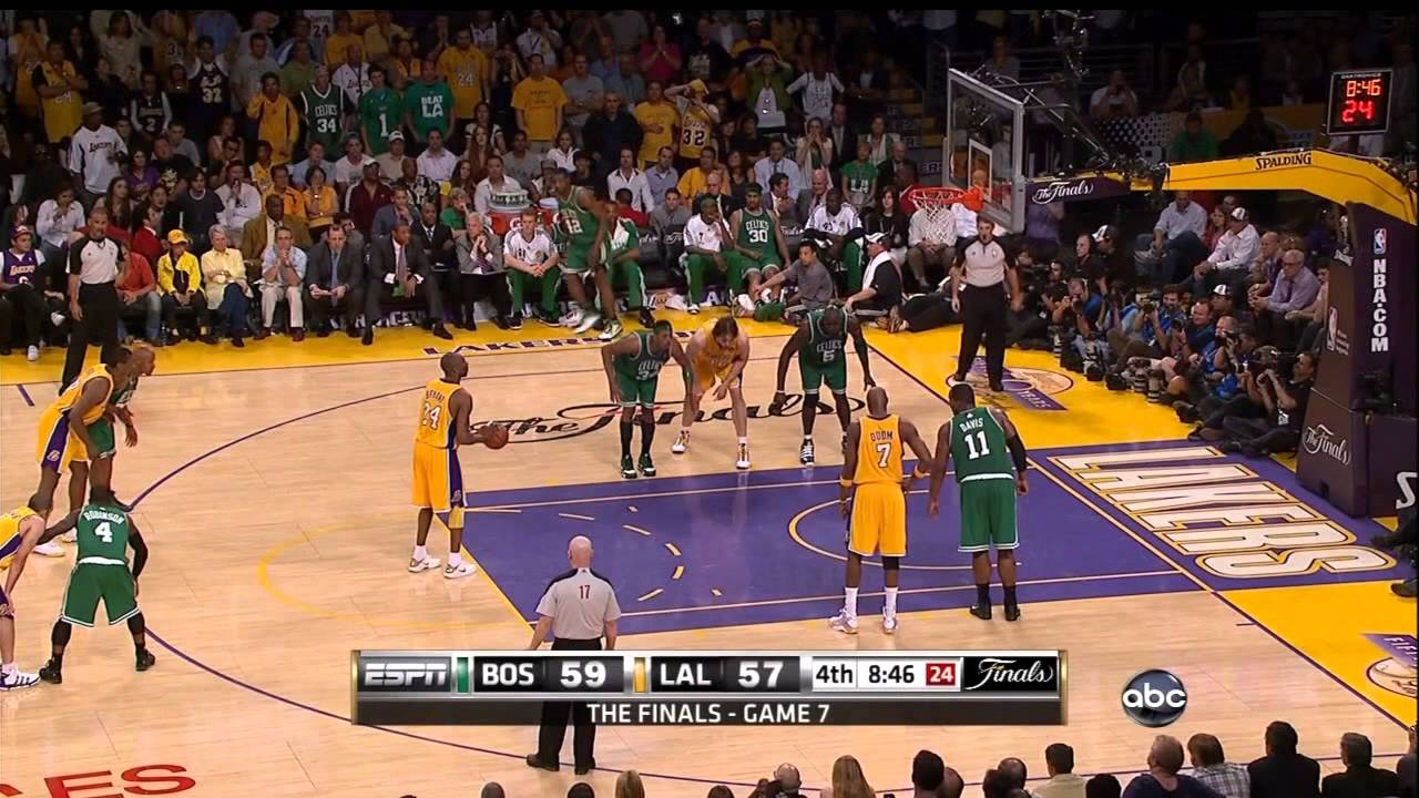 2010 NBA Finals - Boston vs Los Angeles - Game 7 Best ...