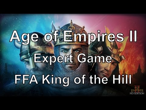 Aoe2: Experts - FFA King of the Hill Tournament #2