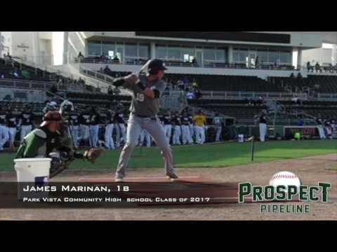 James Marinan, 1b, Park Vista Community High School ,Swing Mechanics at 200 FPS