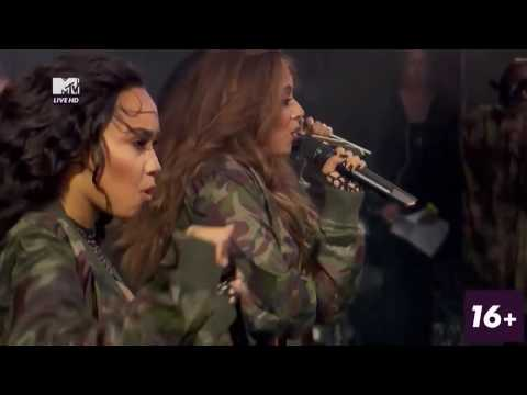 Little Mix - Salute, Hair & Interview (V Festival 2016)