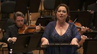 Dorothea Röschmann sings 'Im Treibhaus', Wesendonck Lieder - Orchestre de Paris 2019