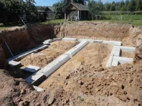 Ленточный фундамент возводит ООО НСТ+ город Наволоки Ивановской области