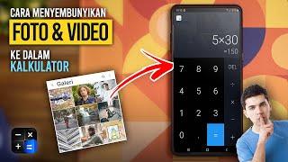 Cara Menyembunyikan Foto & Video ke dalam Kalkulator (Biar Rahasia Tetap Aman) | HideX screenshot 1