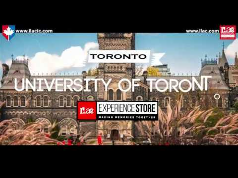 University of Toronto tour with ILAC students