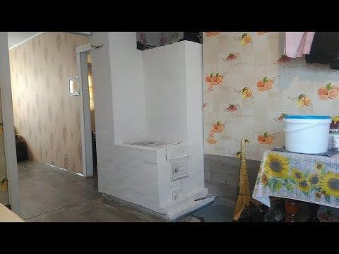 Кирпичная печь - отопление дома дровами