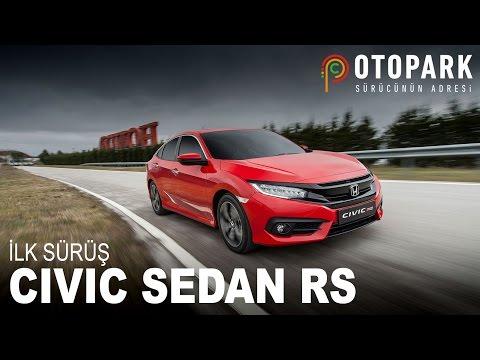 2017 Honda Civic Sedan RS | İlk Sürüş