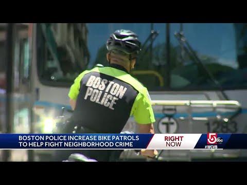 Boston PD increase bike patrols to fight crime