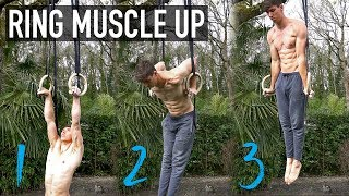Ring Muscle Up Checklist (3 STEPS)