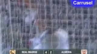 Liga BBVA 2009/2010 - J13 - Real Madrid 4 Almería 2